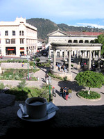Veiw from El Balcon, overlooking Parque Central