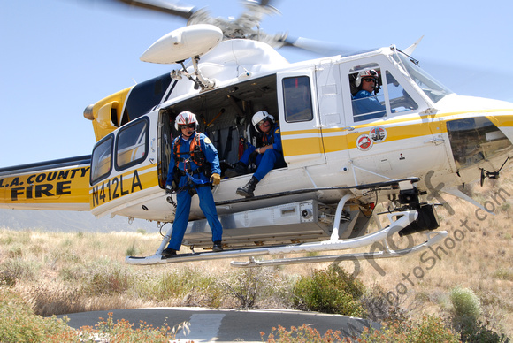 LACoFD Air Squad - Copter 11